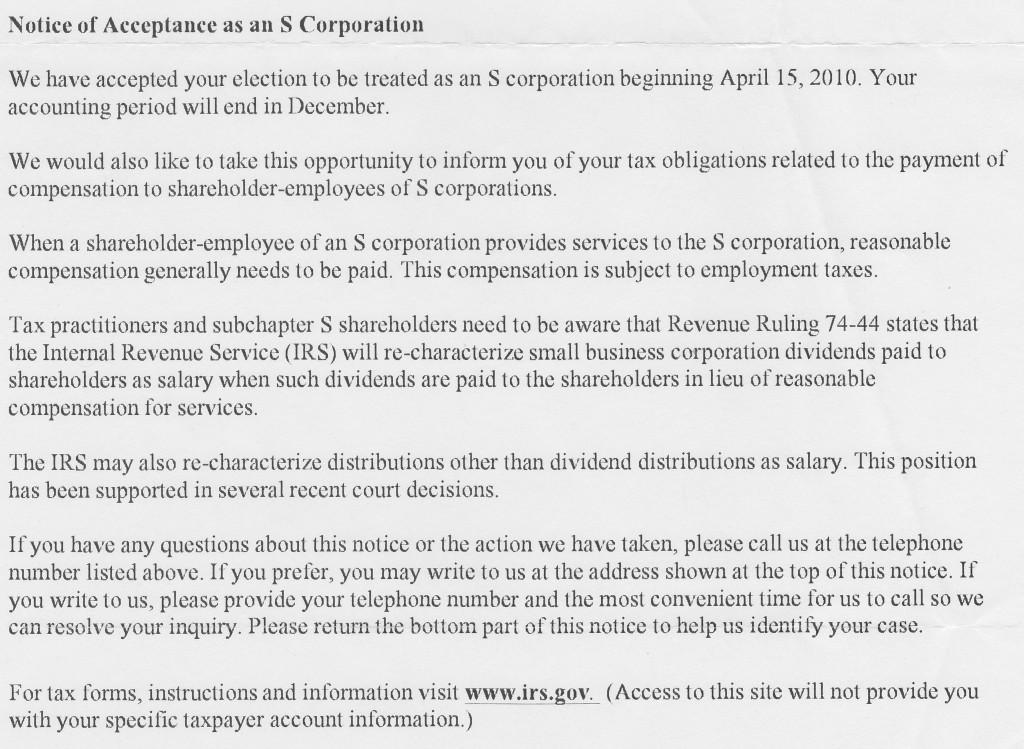 S-Corporation-Letter